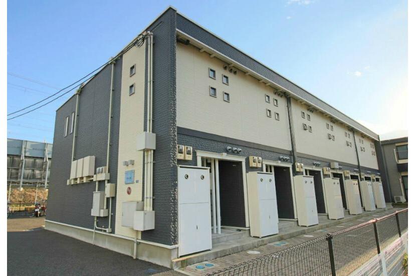 1K Apartment to Rent in Otsu-shi Exterior