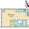 1R Apartment to Buy in Shinagawa-ku Floorplan
