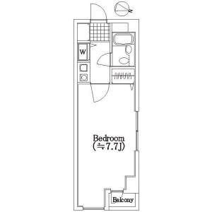 1K Mansion in Egota - Nakano-ku Floorplan