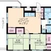 2LDK Apartment to Rent in Mitaka-shi Floorplan