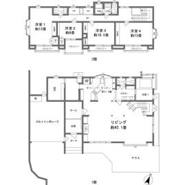 4LDK {building type} in Ninotaira - Ashigarashimo-gun Hakone-machi Floorplan