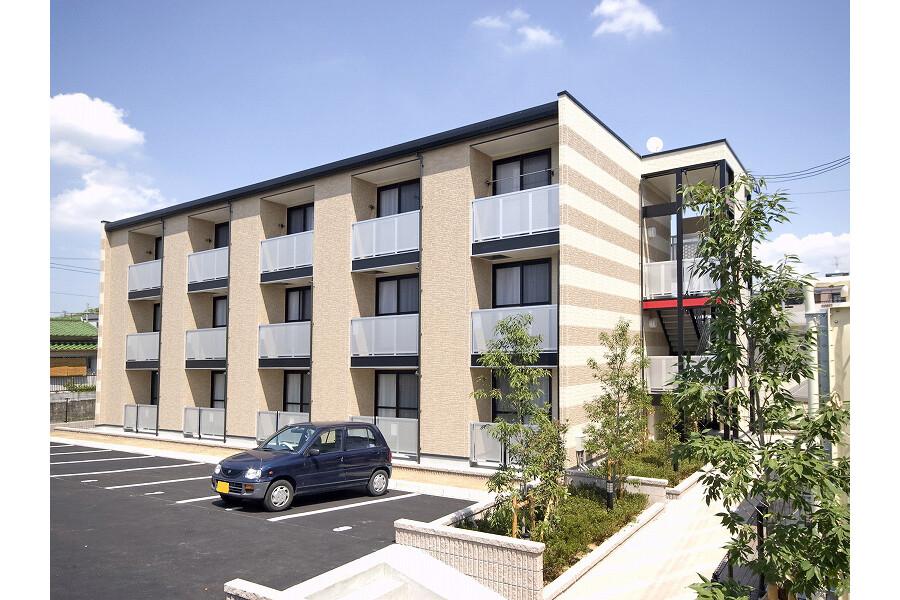 在堺市美原区内租赁1K 公寓大厦 的 户外