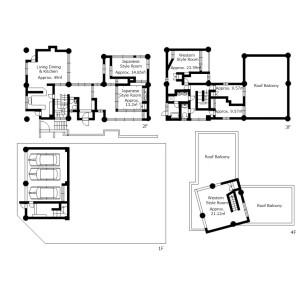 6LDK {building type} in Motomiya - Otsu-shi Floorplan