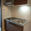 1K Apartment to Rent in Osaka-shi Higashinari-ku Kitchen
