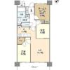 2SLDK Apartment to Rent in Shinagawa-ku Floorplan