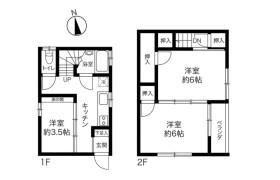 3K {building type} in Kitasuna - Koto-ku