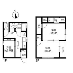 3K {building type} in Kitasuna - Koto-ku Floorplan