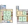 8DK House to Rent in Osaka-shi Ikuno-ku Floorplan