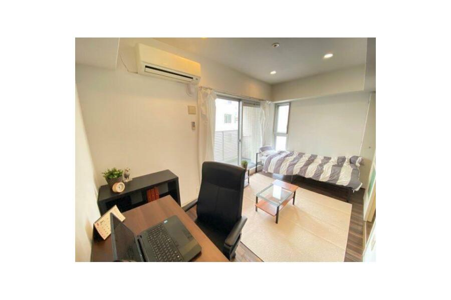 在大阪市西區內租賃1K 公寓大廈 的房產 起居室