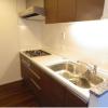 2LDK Apartment to Rent in Meguro-ku Kitchen