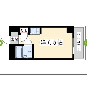 1R Apartment in Higashinakajima - Osaka-shi Higashiyodogawa-ku Floorplan