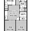 3DK Apartment to Rent in Kobe-shi Chuo-ku Floorplan