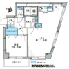 1LDK Apartment to Buy in Toshima-ku Floorplan