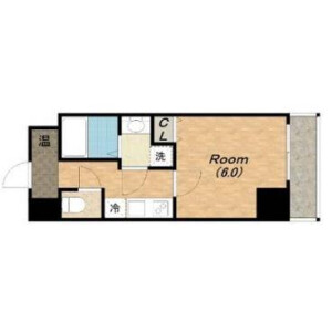 1K Mansion in Oimazatonishi - Osaka-shi Higashinari-ku Floorplan