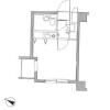 1R Apartment to Rent in Sagamihara-shi Minami-ku Floorplan