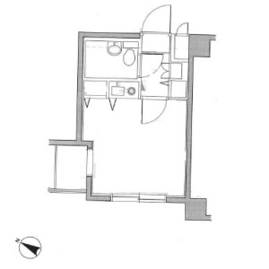 1R Mansion in Higashirinkan - Sagamihara-shi Minami-ku Floorplan