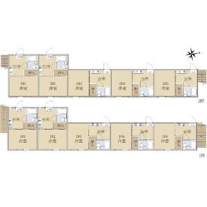 Whole Building {building type} in Oizumimachi - Nerima-ku Floorplan