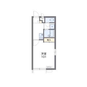 1K Apartment in Shinke - Neyagawa-shi Floorplan