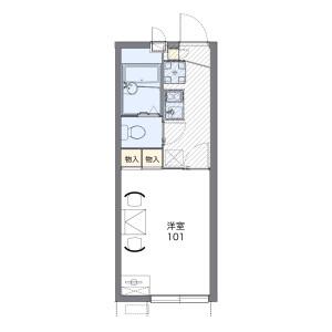 1K Apartment in Dai - Kamakura-shi Floorplan