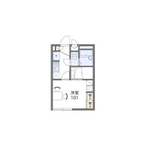 1K Apartment in Taicho - Neyagawa-shi Floorplan