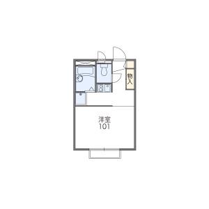 1K Mansion in Sakuramori - Yamato-shi Floorplan