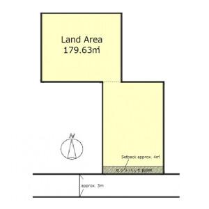 Land only {building type} in Kiyomizu - Kyoto-shi Higashiyama-ku Floorplan
