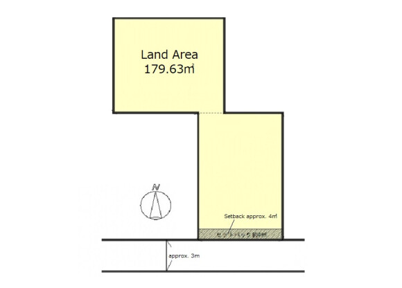 Land only Land only to Buy in Kyoto-shi Higashiyama-ku Floorplan