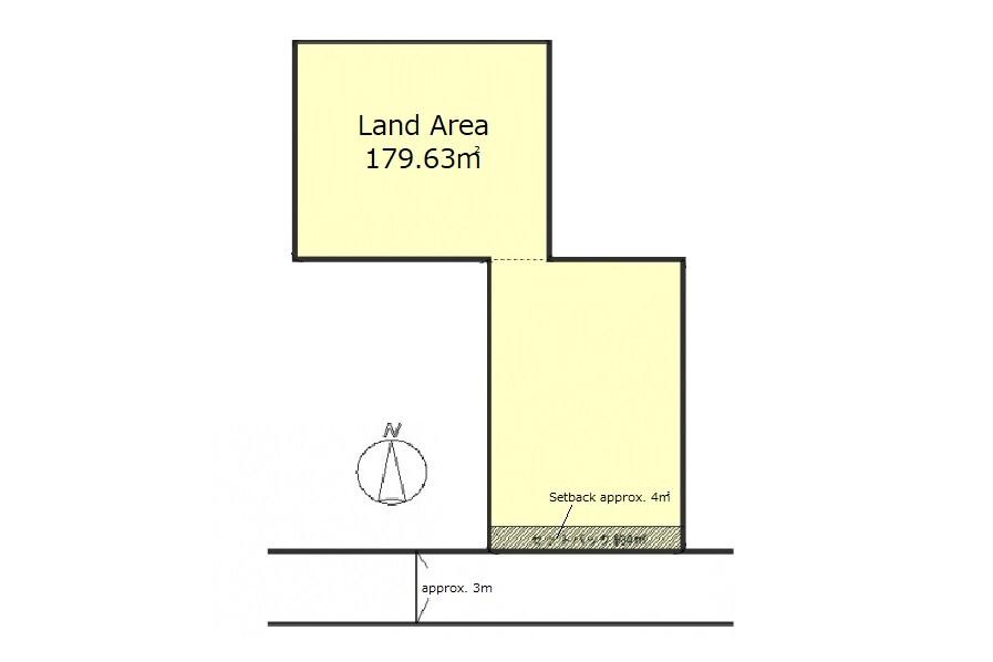 Land only Land only to Buy in Kyoto-shi Higashiyama-ku Floorplan