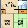 2DK マンション 川崎市宮前区 間取り