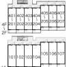 在名古屋市北区内租赁1K 公寓大厦 的 Layout Drawing
