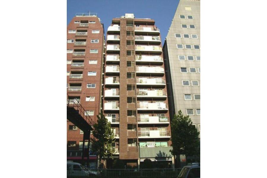 在新宿区内租赁1R 公寓大厦 的 户外