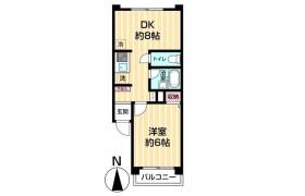 1DK {building type} in Minaminagasaki - Toshima-ku