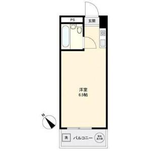 1R Mansion in Shinkoiwa - Katsushika-ku Floorplan