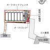 在鎌倉市内租赁1K 公寓 的 楼层布局