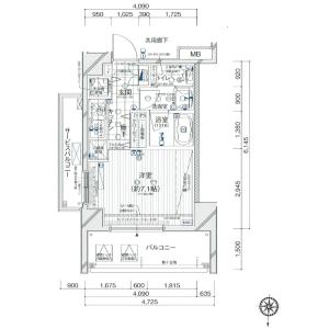 1R {building type} in Narihira - Sumida-ku Floorplan