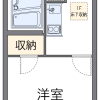 1K Apartment to Rent in Bunkyo-ku Floorplan