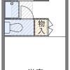 在武藏野市内租赁1K 公寓 的 楼层布局