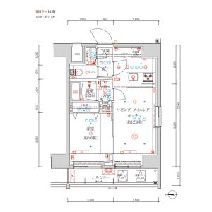 1LDK {building type} in Asakusa - Taito-ku Floorplan