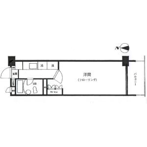 1K {building type} in Kameido - Koto-ku Floorplan