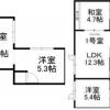 Whole Building Apartment to Buy in Sapporo-shi Higashi-ku Floorplan