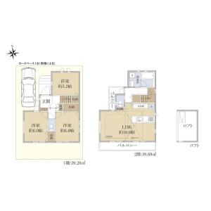 3LDK {building type} in Kamisoshigaya - Setagaya-ku Floorplan
