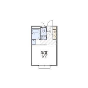 1K Apartment in Tamacho - Fuchu-shi Floorplan