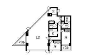 2LDK Mansion in Sendagaya - Shibuya-ku