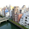 1R Apartment to Rent in Osaka-shi Chuo-ku Balcony / Veranda