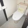 3K Terrace house to Rent in Sakai-shi Kita-ku Toilet