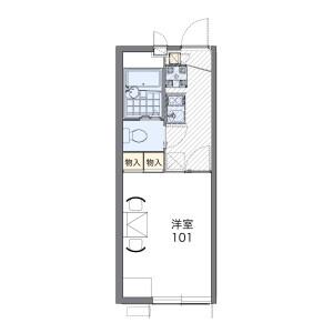 1K Apartment in Nishikurihara - Zama-shi Floorplan