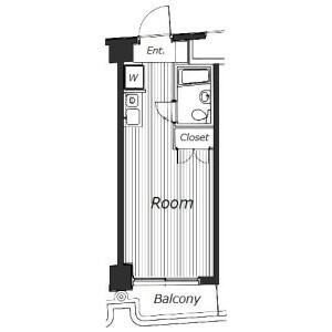 1R Mansion in Otsuka - Bunkyo-ku Floorplan