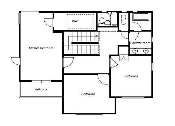 在神戸市東灘区购买4LDK 独栋住宅的 楼层布局
