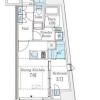 在澀谷區內租賃1DK 公寓大廈 的房產 房間格局
