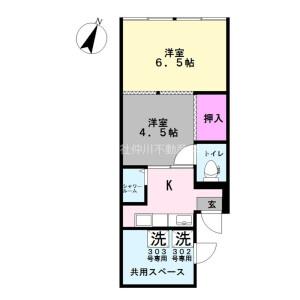 2K Mansion in Kameari - Katsushika-ku Floorplan